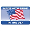 Warehouse Self-Adhesive Label, 5 1/4 x 3, MADE WITH PRIDE IN THE USA, 500/Roll