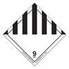 Hazmat Self-Adhesive Shipping Label, 5 x 4 1/2, HAZARD CLASS 9, 500/Roll