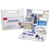 First Aid Kit for 10 People, 63-Pieces, OSHA Compliant, Plastic Case
