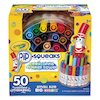Crayola Pip-Squeaks Telescoping Marker Tower, Assorted Colors, 50/Set