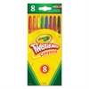 Crayola Twistable Crayons, 8 Traditional Colors/Set