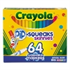 Pip-Squeaks Skinnies Washable Markers, 64 Colors, 64/Set