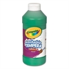 Crayola Artista II Washable Tempera Paint, Green, 16 oz