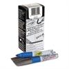 Crayola Dry Erase Marker, Chisel Tip, Blue, Dozen
