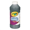 Crayola Artista II Washable Tempera Paint, Black, 16 oz