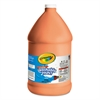 Washable Paint, Orange, 1 gal