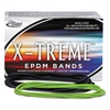 X-treme File Bands, 117B, 7 x 1/8, Lime Green, Approx. 175 Bands/1lb Box
