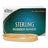 Alliance Sterling Rubber Bands, 107, 7 x 5/8, 50 Bands/1lb Box