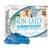 Alliance Antimicrobial Non-Latex Rubber Bands, Sz. 64, 3-1/2 x 1/4, 1/4lb Box