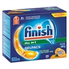 FINISH Dish Detergent Gelpacs, Orange Scent, 20 Gelpacs/Box, 8 Boxes/Carton