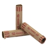 Coin-Tainer Preformed Tubular Coin Wrappers, Pennies, $.50, 1000 Wrappers/Box