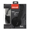 Maxell Solids Headphones, Black