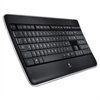Logitech K800 Wireless Illuminated Keyboard, Black