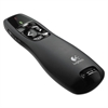 Wireless Presenter w/Laser Pointer, 50ft Projection, Matte Black