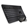 Logitech MX800 Wireless Performance Combo, Keyboard/Mouse, USB, Black