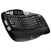 Logitech K350 Wireless Keyboard, Black