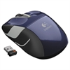 Logitech M525 Wireless Mouse, Compact, Right/Left, Blue