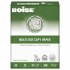 Boise X-9 Multi-Use Copy Paper, 92 Bright, 20lb, 8-1/2 x 11, White, 5000 Sheets/Carton