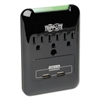 Tripp Lite SK30USB Surge Suppressor, 3 Outlets/2 USB, 540 Joules, Black
