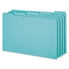 Top Tab File Guides, Blank, 1/5 Tab, 25 Point Pressboard, Legal, 50/Box