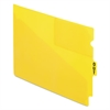 "Pendaflex End Tab Poly Out Guides, Center ""OUT"" Tab, Letter, Yellow, 50/Box"