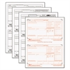 TOPS W-2 Tax Forms, 4-Part, 5 1/2 x 8 1/2, Inkjet/Laser, 50 W-2s & 1 W-3