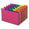 Oxford Card Guides, Alpha, 1/5 Tab, Polypropylene, 4 x 6, 25/Set