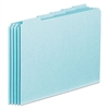 Pendaflex Top Tab File Guides, Blank, 1/5 Tab, 25 Point Pressboard, Letter, 100/Box