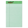 TOPS Prism Plus Colored Legal Pads, 5 x 8, Green, 50 Sheets, Dozen