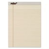 Prism Plus Colored Legal Pads, 8 1/2 x 11 3/4, Ivory, 50 Sheets, Dozen