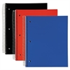 5 Subject, Poly Notebook, 11 x 8, College/Medium, Assorted, 180 Sheets