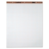 TOPS Easel Pads, Quadrille Rule, 27 x 34, White, 50 Sheets, 4 Pads/Carton