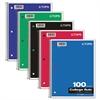 TOPS Coil Lock Wirebound Notebooks, College/Medium, 11 x 8 1/2, White, 100 Sheets