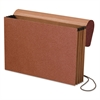"Standard Expanding Wallet, 3 1/2"" Exp, 1 Pocket, Legal, Redrope"