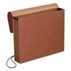 Standard Expanding Wallet, 1 Pocket, Letter, Redrope
