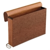 Standard Expanding Wallet, 5 1/4 Exp, Straight Cut, 1 Pocket, Legal, Redrope
