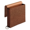 Premium Reinforced Expanding Wallet, 1 Pocket, Letter, Brown