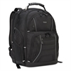 "Targus Drifter Plus with TSA Backpack, For 17"" Laptop, 13 3/4 x 8 1/8 x 17 3/4, Black"