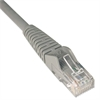 CAT6 Snagless Molded Patch Cable, 7 ft, Gray