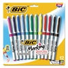 BIC Marking Ultra-Fine Tip Permanent Marker, Assorted, Dozen
