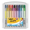BIC Marking Fine Tip Permanent Marker, Assorted Colors, 36/Set