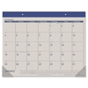 AT-A-GLANCE Fashion Color Desk Pad, 22 x 17, Blue, 2017