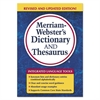 Merriam Webster Merriam-Webster's Dictionary and Thesaurus, 992 Pages