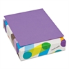 Multipurpose Colored Paper, 24lb, 8 1/2 x 11, Violet, 500 Sheets