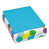 BriteHue Multipurpose Colored Paper, 24lb, 8 1/2 x 11, Blue, 500 Sheets