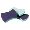 Scotch-Brite Power Sponge #3000, 2 4/5 x 4 1/2, Blue/Teal