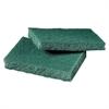 General Purpose Scrub Pad, 3 x 4 1/2, Green, 40 per Box