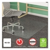 deflecto SuperMat Frequent Use Chair Mat for Medium Pile Carpet, Beveled, 45 x 53, Clear