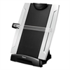 Fellowes Office Suites Desktop Copyholder, Plastic, 150 Sheet Capacity, Black/Silver