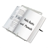 BookLift Copyholder, Plastic, One Book/Pad, Platinum
